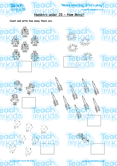 EYFS (4-5 yrs old),Maths Worksheets,Counting,