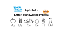 Alphabet - Letters Handwriting Practise