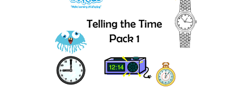 Telling The Time - Pack 1