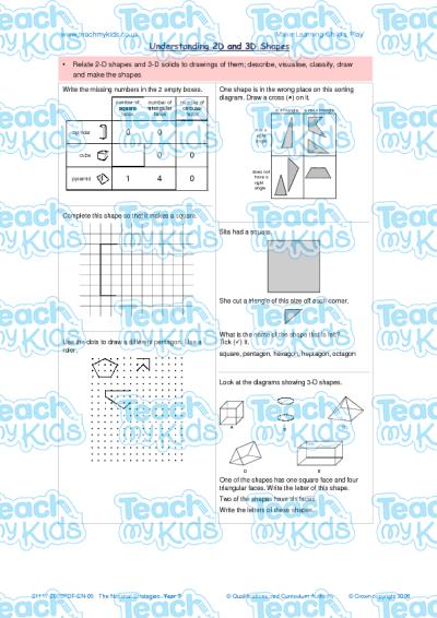 Understanding 2d And 3d Shapes Teach My Kids