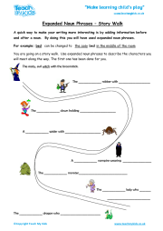 Expanded Noun Phrases - Story Walk