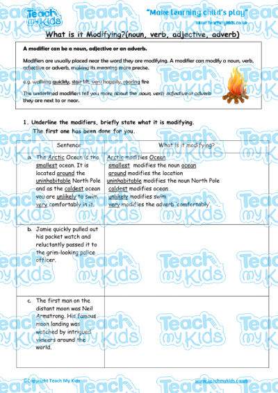 KS2, Year 5 (9-10 yrs old),English Worksheets,Grammar,