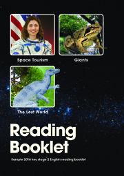 2016 KS2 English - Sample Reading Booklet