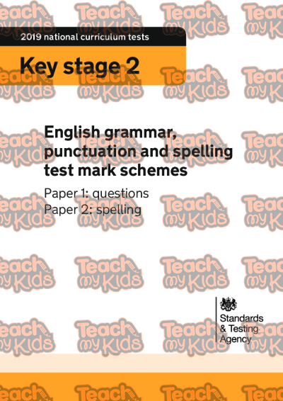 KS2, Year 6 (10-11 yrs old),KS2 SATs Papers,English SATs Papers,