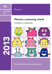 Phonics Screening Test 2013