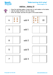Addition - Making 10