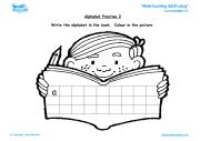 Free Printable Cursive Handwriting Worksheet for Kindergarten