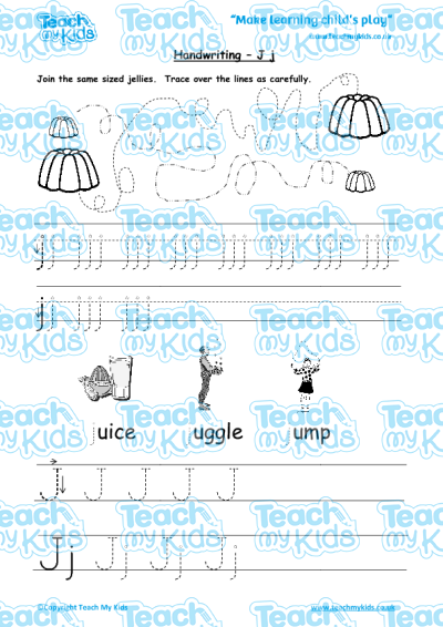 handwriting practise j j teach my kids. Black Bedroom Furniture Sets. Home Design Ideas
