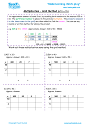 math worksheet : grid method multiplication worksheets tu x tu  multiplication  : Multiplication Grid Method Worksheets