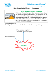 Non - Chronological Report - Volcanoes