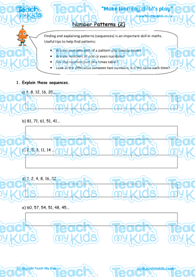 KS2, Year 3 (7-8 yrs old),Maths Worksheets,Number, Place Value and Fractions,