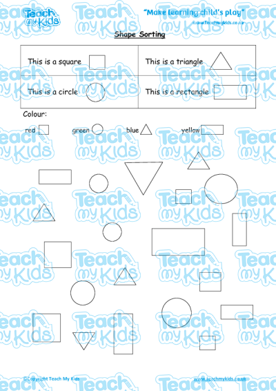 EYFS (4-5 yrs old),Maths Worksheets,Time, Shape, Measuring and Fractions,