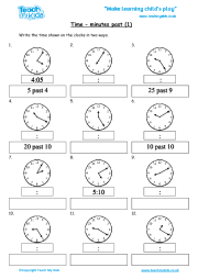 Time - minutes past (1)