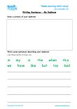 ks1 year 1 5 6 yrs old english worksheets grammar worksheets teach my kids. Black Bedroom Furniture Sets. Home Design Ideas